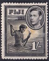 FIJI 1938  1/-   SG262   MLH  SUPERB STAMP - Fiji (...-1970)