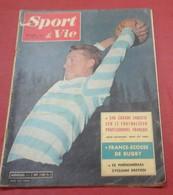 Sport Et Vie N°57 Février 1961 Cyclisme Breton Bobet Bouvet Groussard, Pierre Bernard, Rugby France Ecosse AS Beziers - Sport