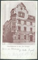 Allemagne Offenburg  Hotel Drei Koenige Rekruten Depot  Infanterie Reg. 172 - Offenburg