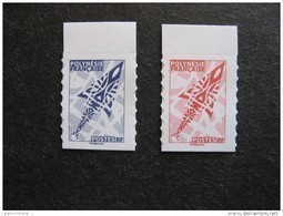 Polynésie: TB Paire N° 1073 Et N° 1074, Neufs XX. - Nuevos