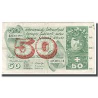 Billet, Suisse, 50 Franken, 1973, 1973-03-07, KM:48m, TB+ - Switzerland