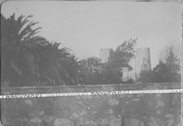 83 CARQUEIRANNE / PHOTO / 1906 - 1907 / CHATEAU APPARTENANT A MONSIEUR NANTAS / CHATEAU SAINT VINCENT - Carqueiranne