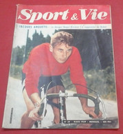 Sport Et Vie N°34 Mars 1959 Riviere  Anquetil,Real Barcelone,Histoire 4 CV Renault, OGC Nice - Sport