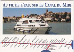 11. Gf. Sur Le Grand Bassin De CASTELNAUDARY. Le Crown Crusader. 1290 - Castelnaudary
