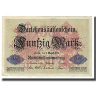 Billet, Allemagne, 50 Mark, 1914, 1914-08-05, KM:49a, TTB - 50 Mark