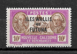 "WALLIS & FUTUNA : ""Bougainville/LaPerouse""  N° 129 **  TB  (cote 3,00 €) - Ungebraucht"