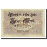 Billet, Allemagne, 20 Mark, 1914, 1914-08-05, KM:48a, TTB - 20 Mark