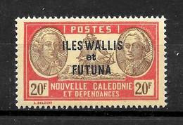 "WALLIS & FUTUNA : ""Bougainville/LaPerouse""  N° 130 **  TB  (cote 3,00 €) - Ungebraucht"
