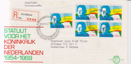 Holanda 1969  Ivert  905 SPD FDC 15 Aniversario Del Estatuto - FDC
