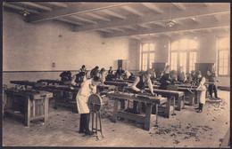 +++ CPA - TIENEN - TIRLEMONT - THIENEN - Ecole Normale Provinciale D'instituteurs - Travail Du Bois - Nels  // - Tienen