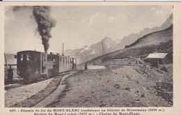 74 SAINT GERVAIS LE FAYET TRAMWAY DU MONT BLANC STATION DU MONT LACHAT  ED MORAND 609 - Saint-Gervais-les-Bains