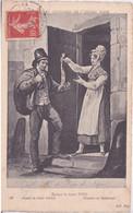 Gravure DE DEBUCOURT - DESSIN DE CARLE VERNET  EPOQUE LOUIS XVIII - MR DE PEAU DE LAPIN - COUTUMES DE L ANCIEN PARIS - Sin Clasificación