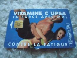"Telecarte France Telecom "" Vitame C Upsa "" 50 Unites - Unclassified"
