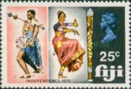 Fiji, 1970, Michel 272, Independence, Dancer, 1v Out Of Set, MNH - Danza