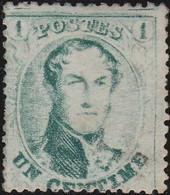 Belgie   .   OBP    .    13 B      .     (*)     .    Geen Gom    .   /   .   Pas De Gomme - 1863-1864 Medallions (13/16)