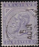 Belgie   .   OBP    .   41    .     O    .    Gebruikt    .   /   .    Oblitéré - 1883 Leopoldo II