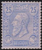 Belgie   .   OBP    .    48      .   *     .    Ongebruikt Met Gom   .   /   .   Neuf Avec Gomme Et Charnière - 1883 Leopoldo II