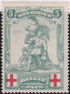 Belgie   .   OBP    .    126   .   *     .    Ongebruikt Met Gom   .   /   .   Neuf Avec Gomme Et Charnière - 1914-1915 Croce Rossa