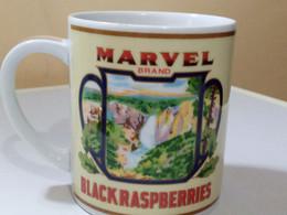 CHOPE MARVEL BRAND - BLACKRASPBERRIES. WG CO. - Cups