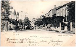 32 GONDRIN - Avenue Principale - Altri Comuni