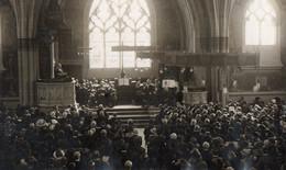 51. MARNE // CARTE PHOTO .TEMPLE De Reims.// PHOTO PRISE LE JOUR DE L INAUGURATION 24 06 1916 - Reims