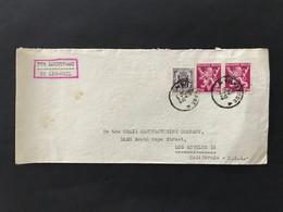 Briefomslag Heraldieke Leeuw OBP 685 (x2) + 671 - Sin Clasificación