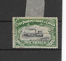 Belgisch Kongo  N° 29  Cote 210 Euro  X Scharnier - 1884-1894 Vorläufer & Leopold II.