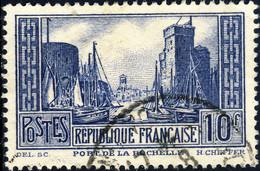 FRANCE - Yv.261- 10fr La Rochelle T.III Oblitéré TB (ill. #Jun06$60) - Used Stamps