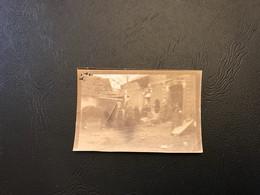 14-18 - PHOTO - FONTAINE LES CAPPY Poste De Secours 1914 Attaque De FAY - Oorlog, Militair