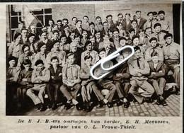 O.L. VROUW THIELT..1936.. DE B.J.B. ERS OMRINGEN HUN HERDER E.H. MEEUSSEN - Ohne Zuordnung