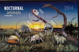 2014 UMM M/S Nocturnal Animals - Namibia (1990- ...)