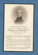 Image GENEALOGIE FAIRE PART DECES NOBLESSE COMTESSE DURSUS DE COURCY DE QUINCEY 1834 1920 - Avvisi Di Necrologio