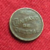 Guatemala  1/2 Medio Centavo 1932 Wºº - Guatemala