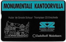 Netherlands - KPN - L&G - RCZ319 - Zadelhoff Makelaars Monumentale Kantoorvilla - 249B - 4Units, 09.1991, 1.000ex, Mint - Privé