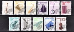 FRANCE  1992 / 1993 - SERIE 11 PREO  Y.T. N° 213 A 223  - NEUFS** - 1989-....
