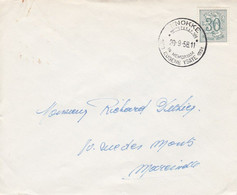 Knokke Congrès 1958 In Memoriam Eugène YSAYE 1931 - Cartas