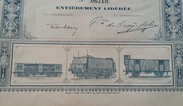 ATELIER DU ROEULX 1910 - Ferrocarril & Tranvías