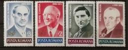 Roumanie 1986 / Yvert N°3707-3710 / ** - Ongebruikt