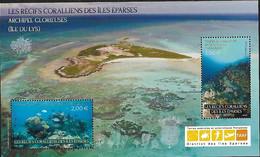 TAAF 2021 -  Bloc - Les Récifs Coralliens ** - Unused Stamps
