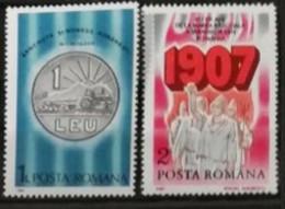 Roumanie 1987 / Yvert N°3736 + 3743 / ** - Ongebruikt