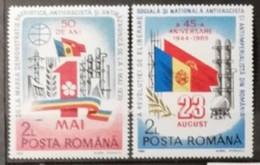 Roumanie 1989 / Yvert N°3847-3848 / ** - Ongebruikt