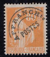 France Preobliteres - 1922-47 - 80c - TP Yv.75 - MH - 1893-1947