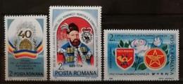 Roumanie 1987 / Yvert N°3790 + 3804-3805 / ** - Ongebruikt