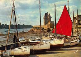 CPM - 35 - SAINT-MALO-SUD - La Tour Solidor Vue à Travers Les Bateaux De Plaisance - Saint Malo