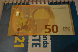 50 EURO FRANCE - U015G3 - UC2360053459 - UNC DRAGHI - 50 Euro