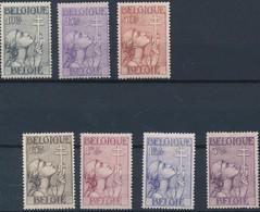 [* SUP] N° 377/83, Croix De Lorainne - La Série Complète - Cote: 265€ - Unclassified