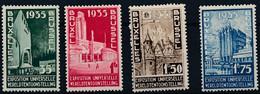 [** SUP] N° 386/89, Expo Bruxelles - La Série Complète - Cote: 70€ - Unclassified