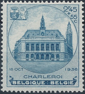 [** SUP] N° 437, Charleroi, Le Timbre Du Bloc - Fraîcheur Postale - Cote: 60€ - Unclassified