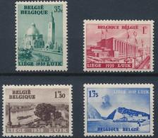 [** SUP] N° 484/87, Expo Liège - La Série Complète - Cote: 15€ - Unclassified
