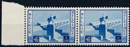 [** SUP] N° 939-V1, Pont Fêlé. Paire Horizontale - Cote: 100€ - Ohne Zuordnung